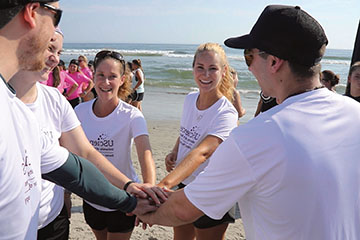 PT Students Trade White Coats for We Suits at Adaptive Surfing Clinic